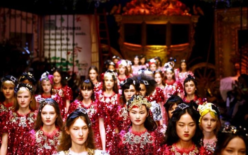 Dolce & Gabbana autumn-winter 2016 Reuters