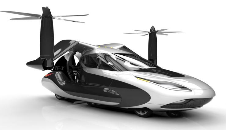 the future is here  terrafugia tf
