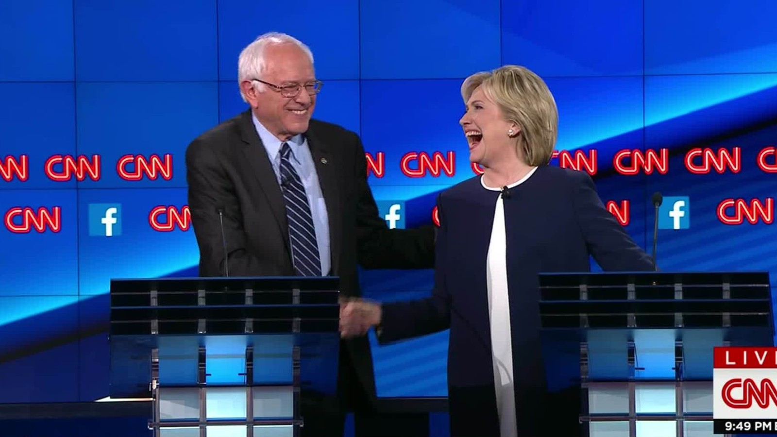 Image: Hillary Clinton and Bernie Sanders want to steal more of your money