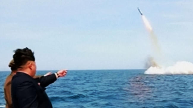 Image: Kim Jong-Un may be planning to nuke America from nuclear submarines… range is no longer a factor… East Coast the most likely target
