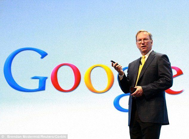 "Image: Google chairman wants AI robots to ""solve problems"" of overpopulation, climate change and education"