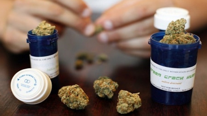 Image: Pharmaceutical companies worry as medical marijuana use increases