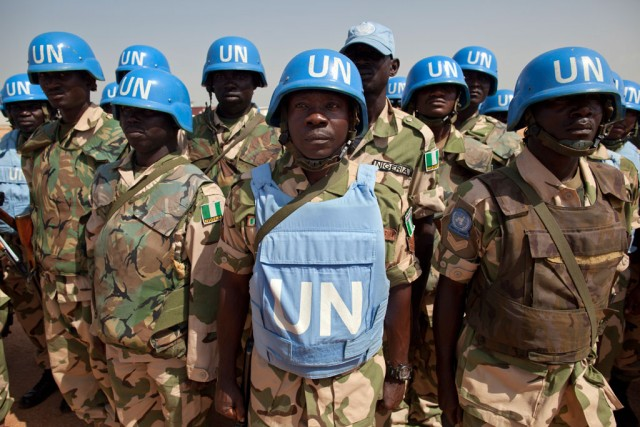 United Nations 'peacekeeping' the face of global ...