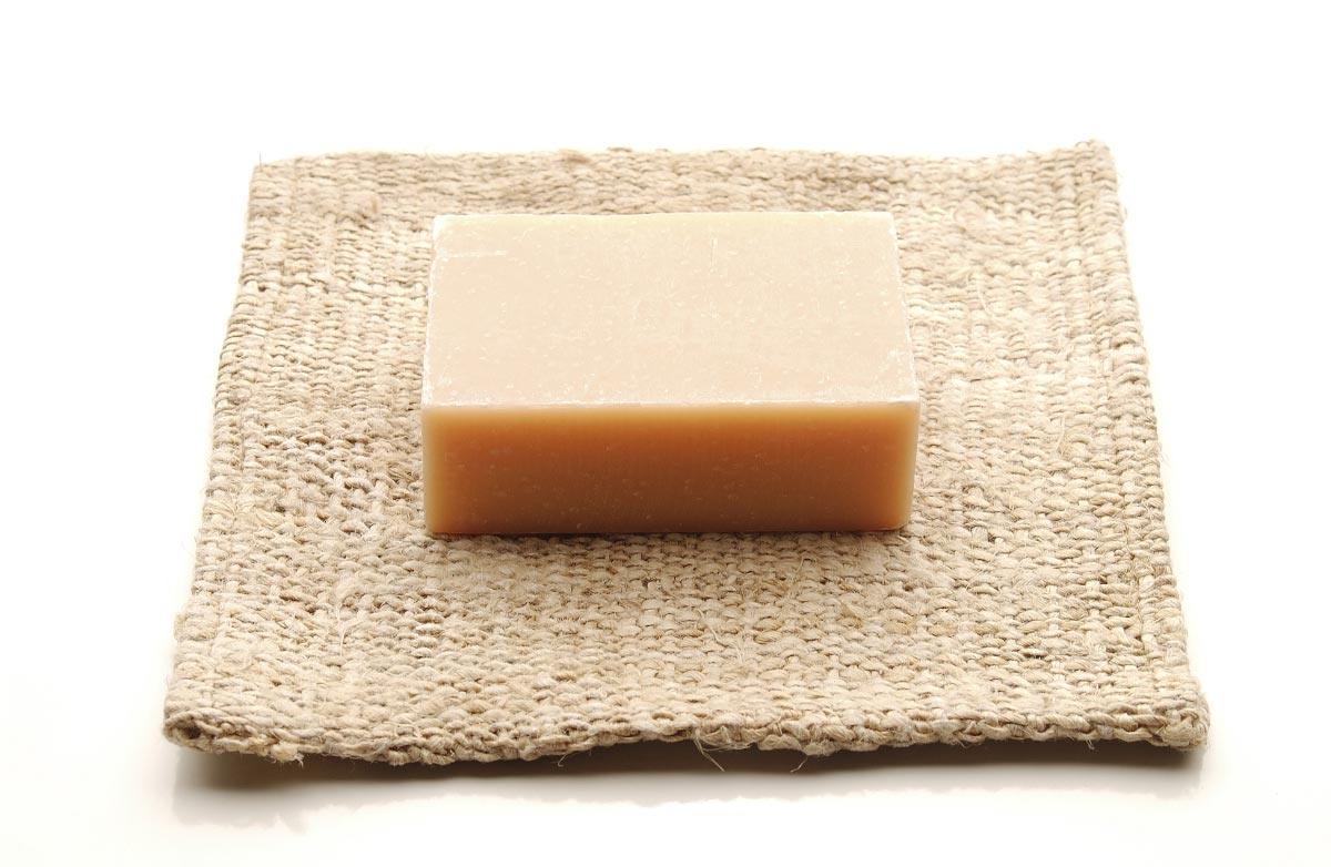 Natural bath soap