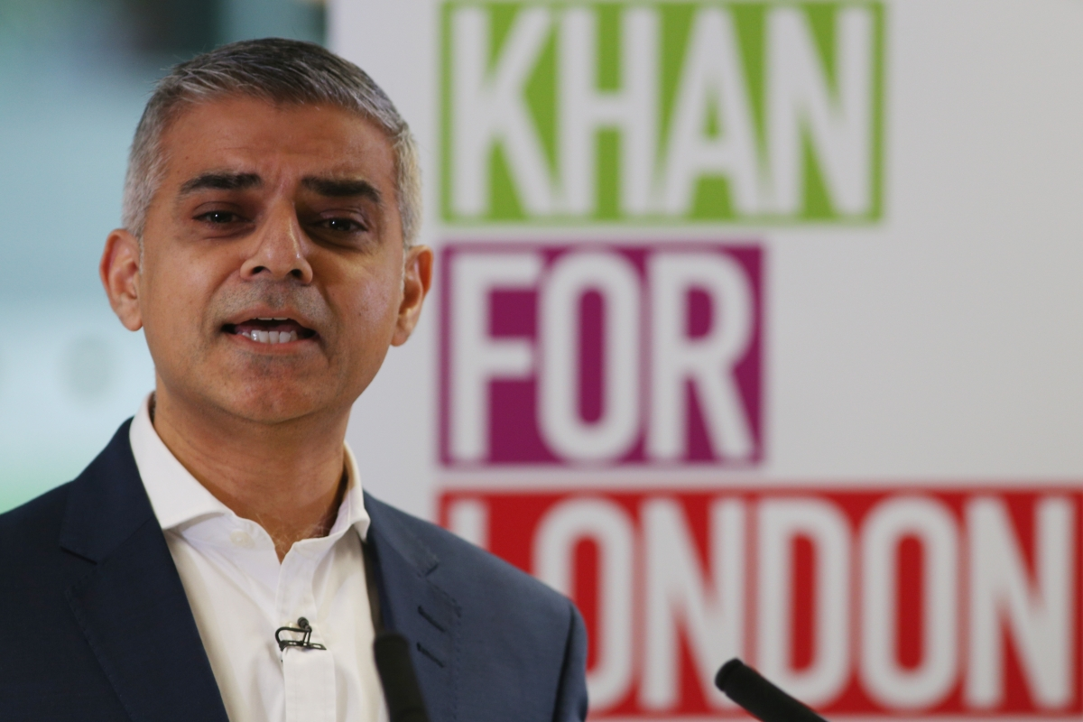 The Mayor of London, Sadiq Khan, spoke alongside terrorist tied to London Bridge attacks