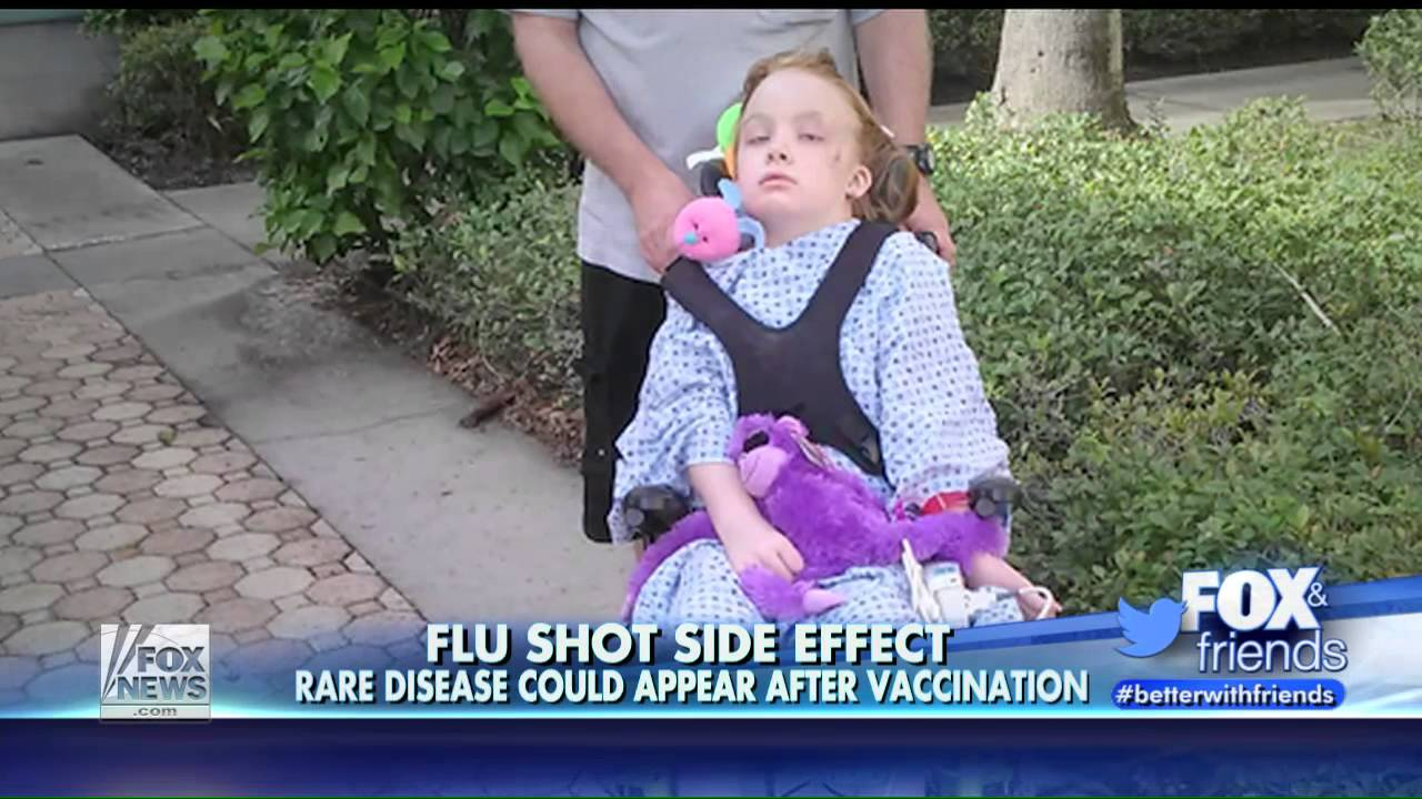 Image: A healthy, 9-year old Florida girl was paralyzed by the flu shot