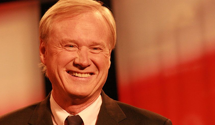 Image: MSNBC host Chris Matthews actually claims the term 'law and order' is racist