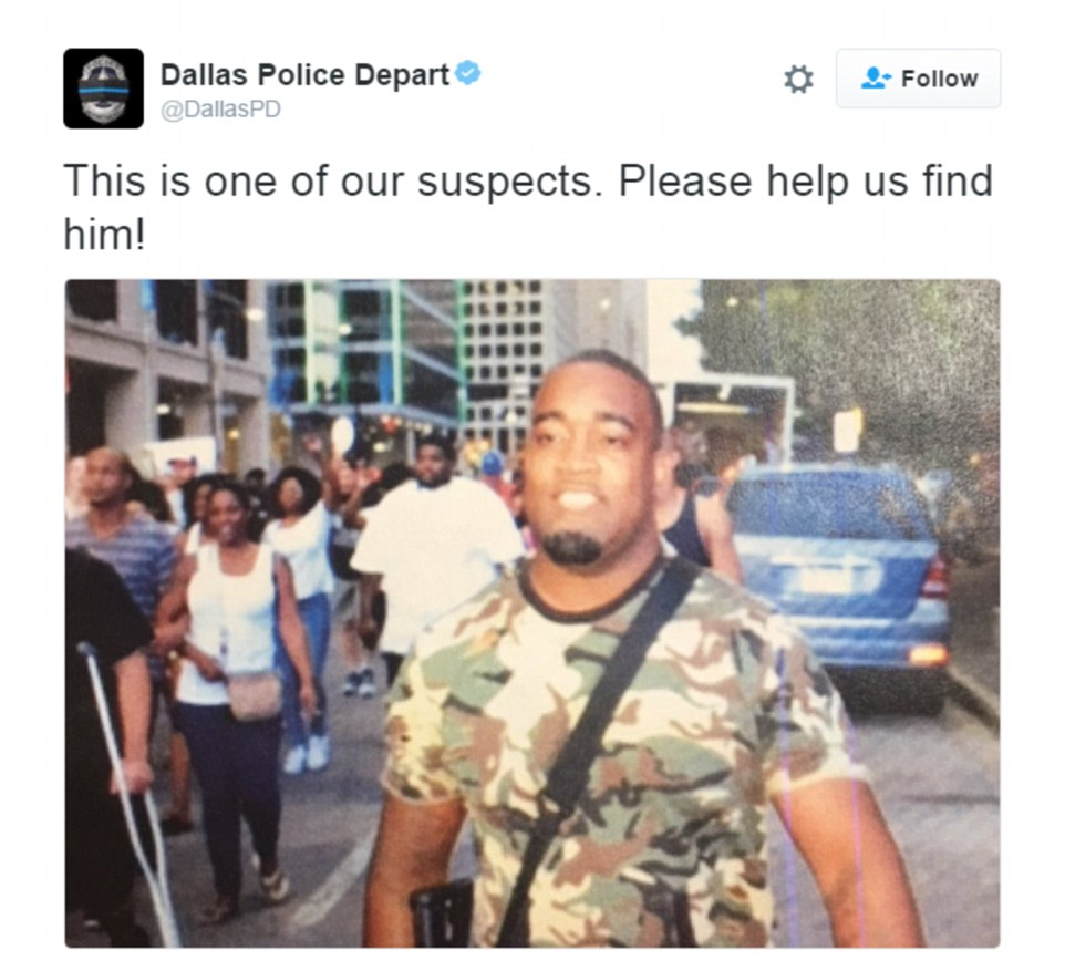 Image: Innocent concealed carrier falsely accused of crime by rampant media following Dallas attack