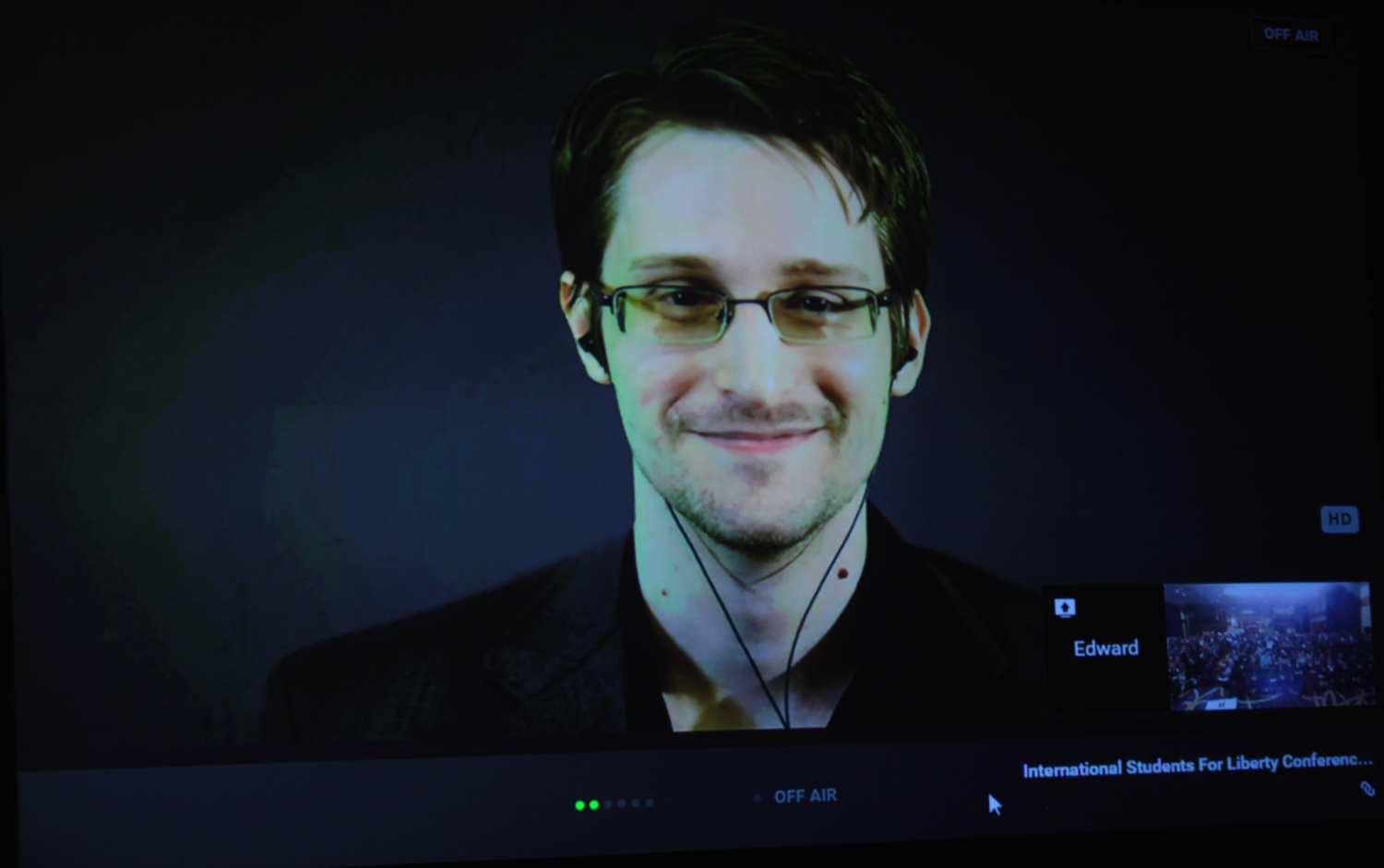 Image: Snowden sheds light on recent NSA hack; talks false flags
