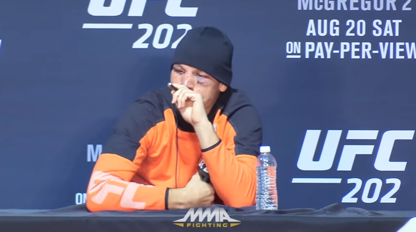 Image: MMA fighter Nate Diaz targeted, possibly penalized for using CBD oil