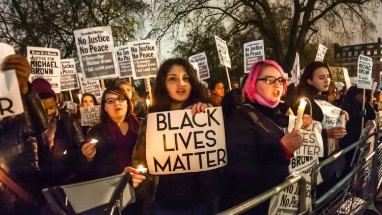 "Image: Higher education? Stanford will now accept students if they scribble ""Black Lives Matter"" on their college application"