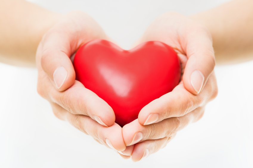 Five steps to a healthy heart - 2 hand love wallpaper ...