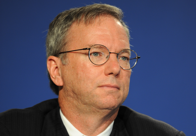 Image: Google chairman wanted to be 'head outside advisor' for Clinton Regime, emails reveal