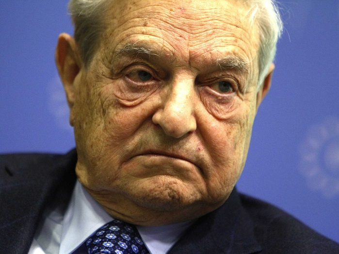 Image: George Soros is trying to cause another civil war