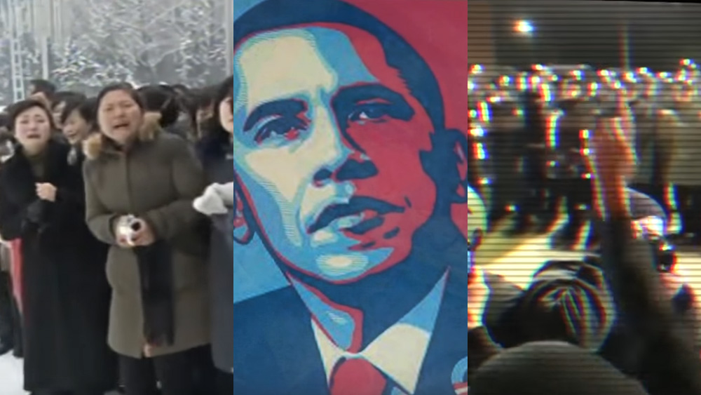 Image: North Korea and the Obama regime both exert mind control over their sheeple in exactly the same way (video)