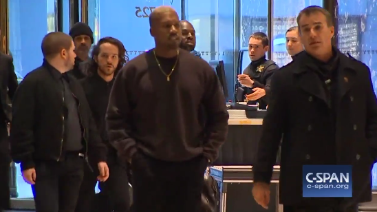 Image: Kanye West meets with Donald Trump at Trump Tower