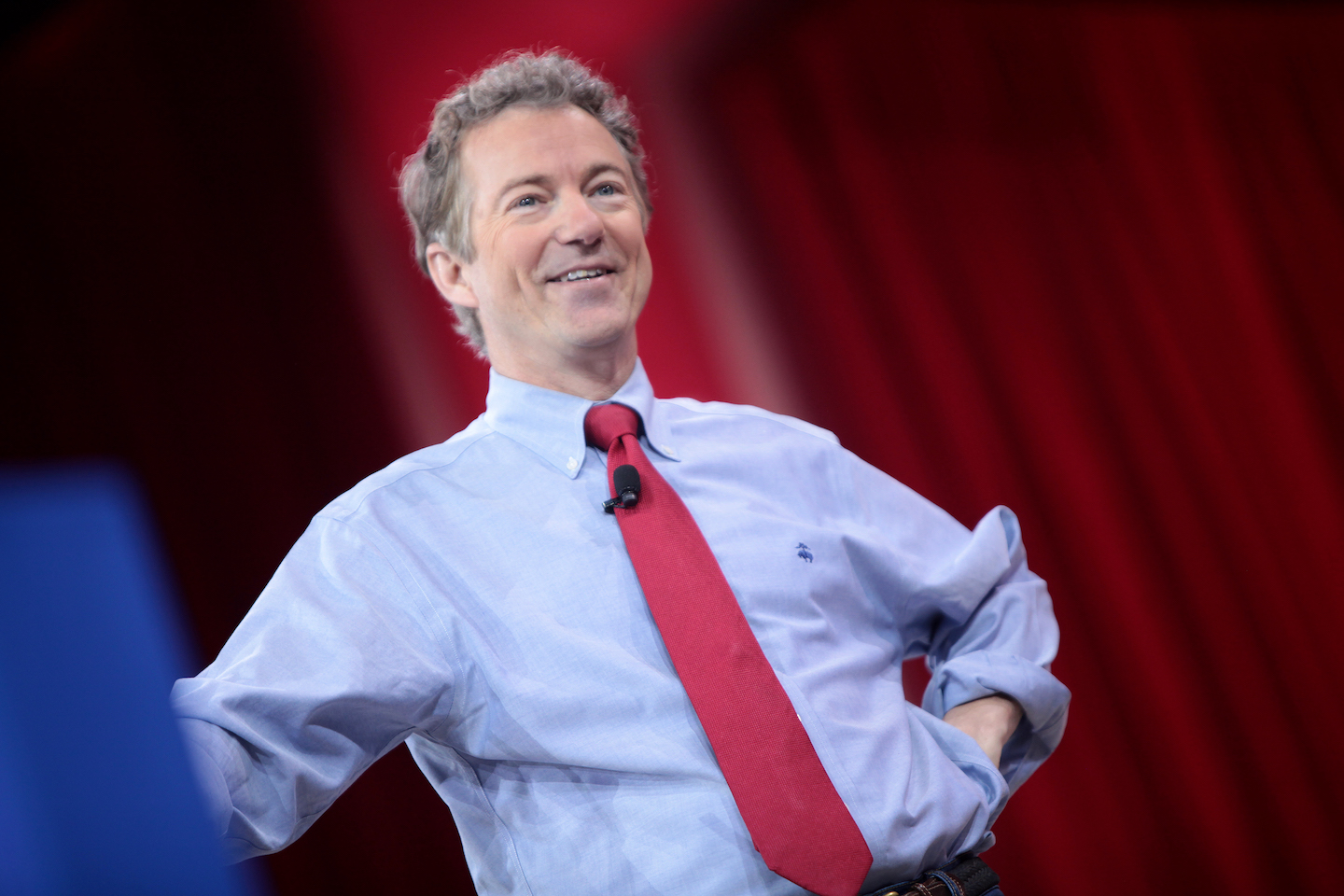 "Image: Rand Paul on CNN bias: ""It's clearly a partisan network, and there's no news"""