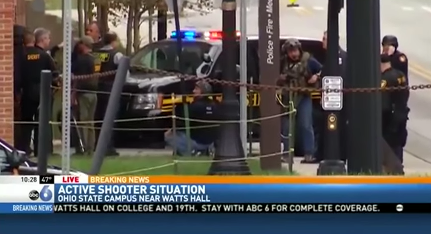 Image: At Least 8 Injured In Mass Shooting At Ohio State University
