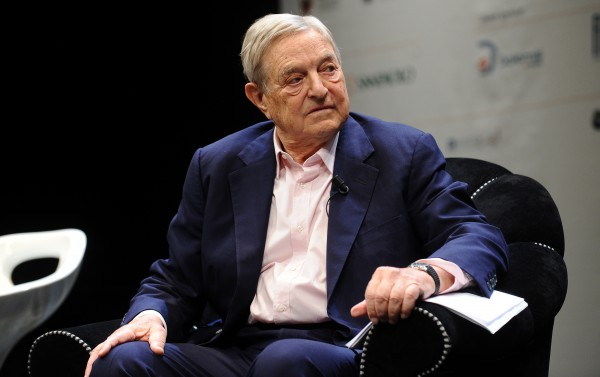Image: Global elite George Soros tries to insinuate an economic disaster will take place if the UK leaves the EU
