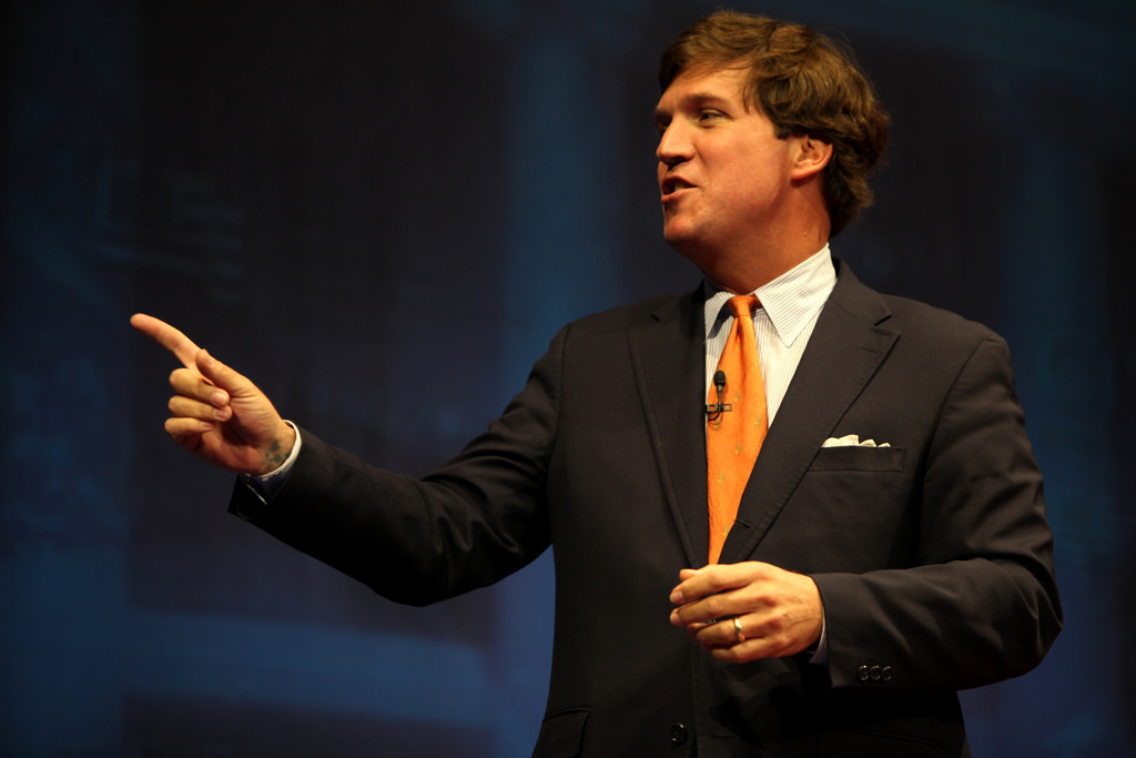 Image: Tucker Carlson calls for protection of free speech online: fake news is 'purely authoritarian'