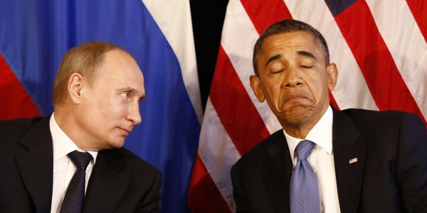 Image: Obama issues an executive order sanctioning Russian officials over unproven speculation, NOT proof