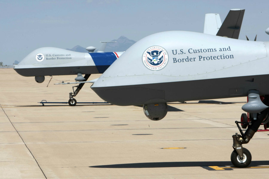 Image: Drug cartels 'spoofing' DHS drones at the U.S.-Mexico border