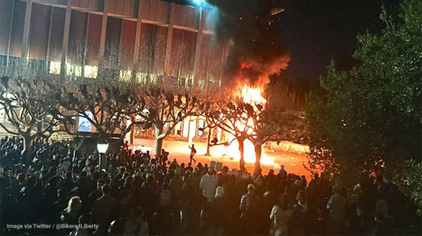 Charlottesville reporting shows the REAL danger to America is not violent riots but a wildly dishonest media that lies and distorts everything for political gain
