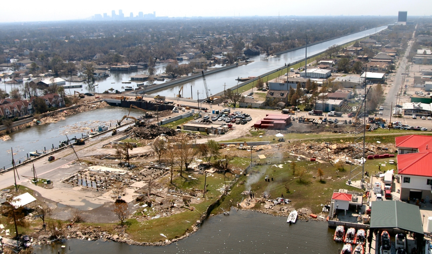 new orleans levee improvement after hurricane katrina essay The hidden story of hurricane katrina warned the white house that hurricane katrina could top the new orleans levee false papers for a.