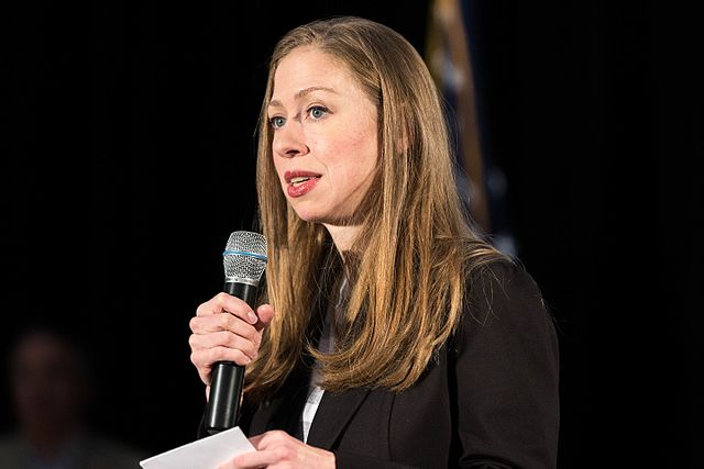 Image: Chelsea Clinton fuels speculation of political run