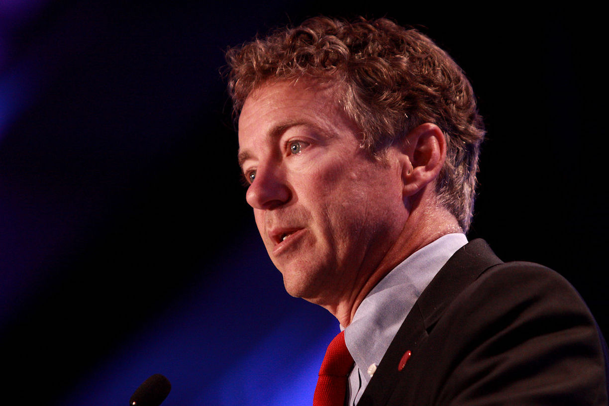 Image: Sen. Rand Paul on Paul Ryan's Obamacare Lite: Speaker 'Trying to Pull the Wool Over the Eyes of the President'