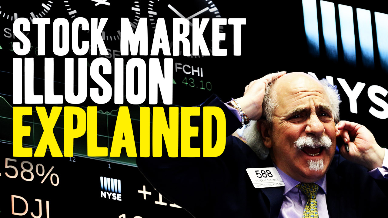Mind-blowing math animation explains why stock market wealth is an ILLUSION that vanishes in a crash