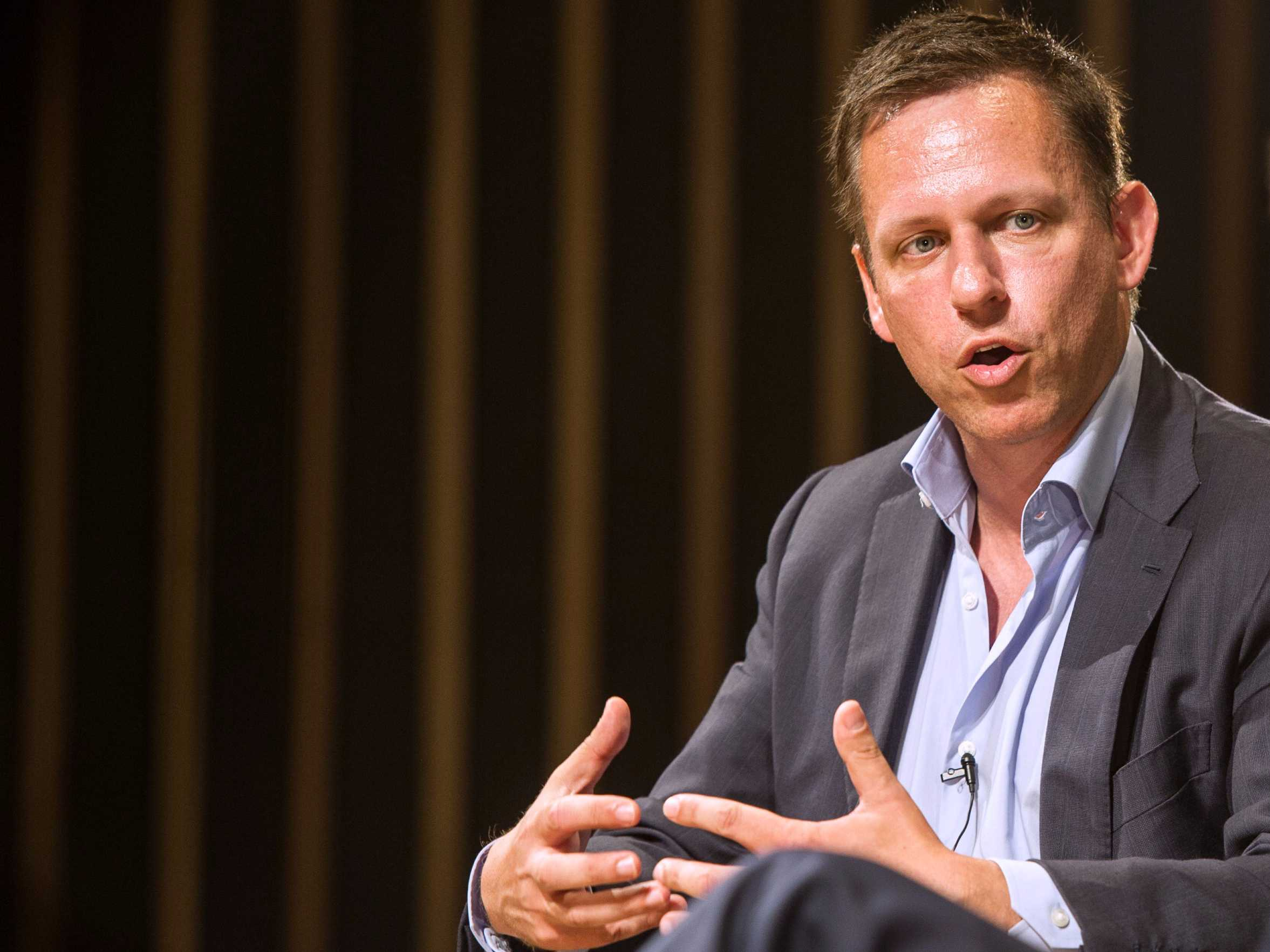 Image: Billionaire Peter Thiel: Globalization is over