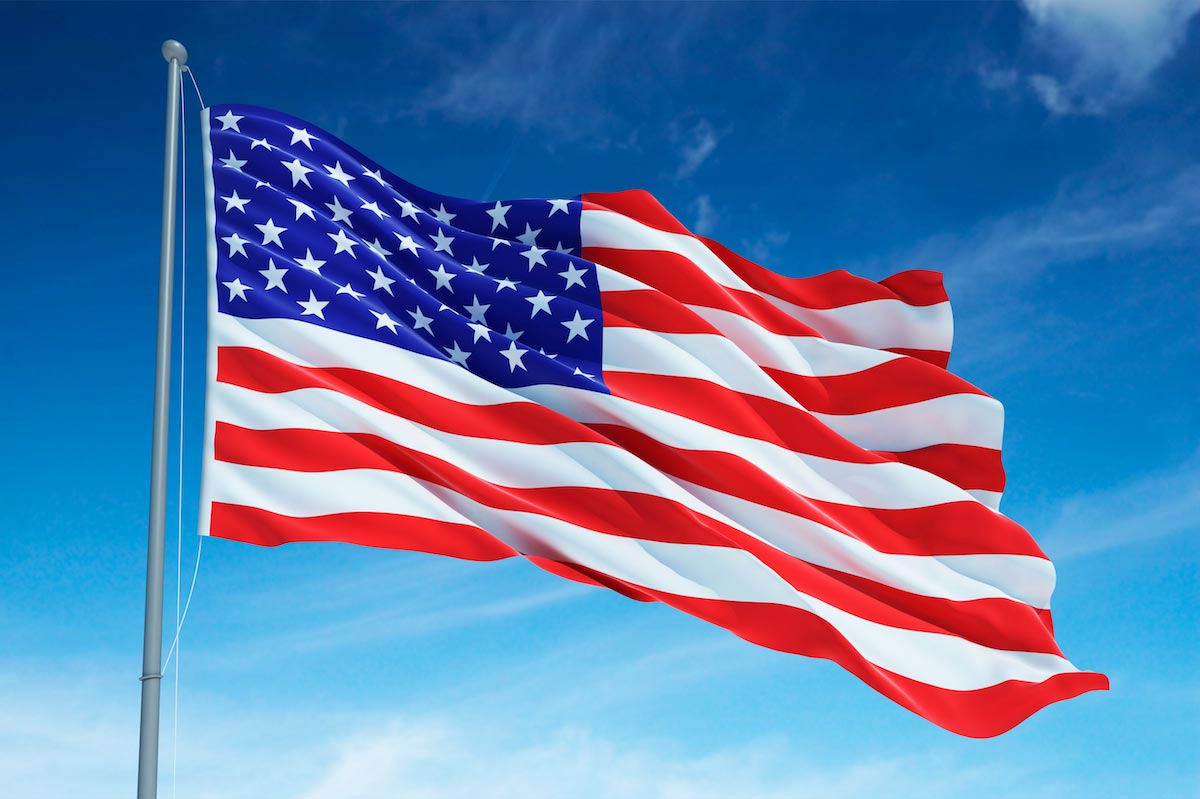 California College Students Vote Out The American Flag