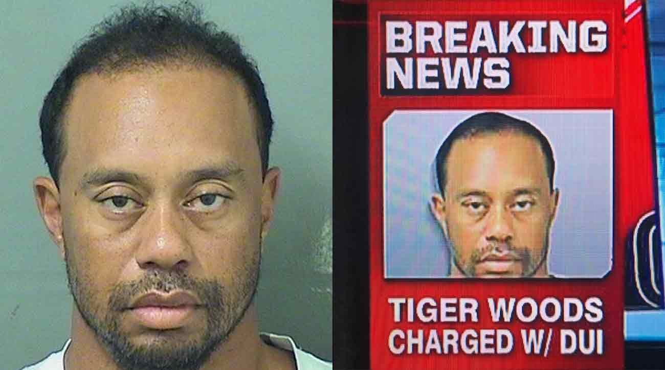 FAKE NEWS: ESPN photoshopped Tiger Woods DUI arrest photo to make him look less ragged and deranged