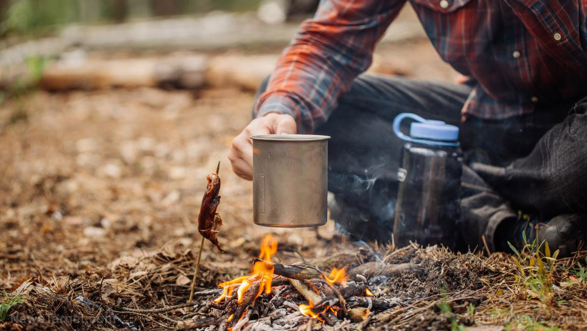 An easy guide to starting a fire with a water bottle