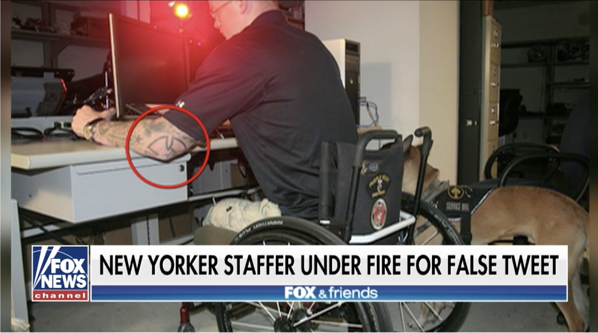 Fact-checker for New Yorker resigns after falsely claiming ICE agent had Nazi tattoo