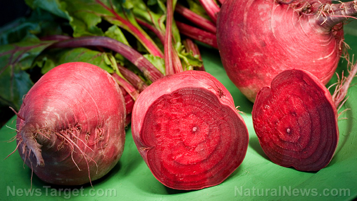 Beets make for a pretty decent survival food