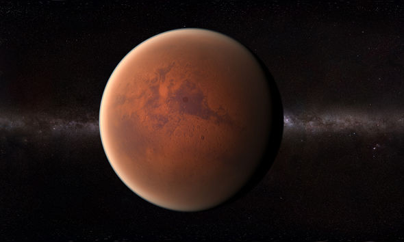 "Experts believe that Mars once had a thick hydrogen atmosphere that could sustain ""key ingredients of life"""