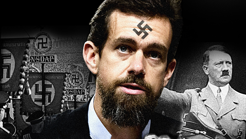 Twitter CEO Jack Dorsey censoring those who want law and order (including the President) while aiding and abetting domestic terrorists