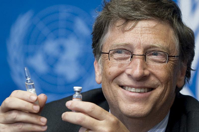 Black people are the first targets of the Bill Gates vaccines… ever wonder why?