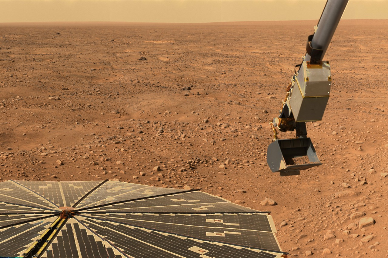 Martian dust storms threaten to knock out NASA's InSight lander